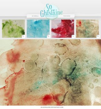 Textures - WaterColor by So-ghislaine