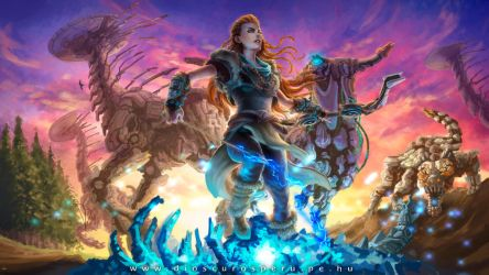 HORIZON ZERO DAWN by DIOSCUROS87