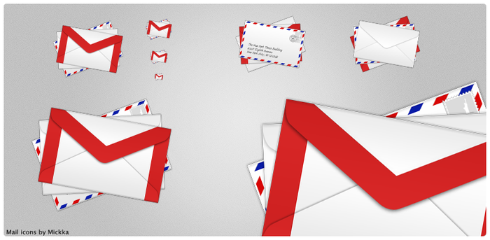 Mail icons by Mickka