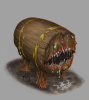 Dnd Mimic by GraphicGeek