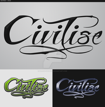 Logo Project Draft - 'Civilise' by Grand-Guignol
