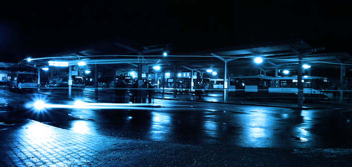 Bus station by FrantisekSpurny