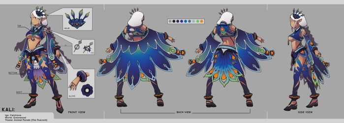 Dragon Nest: KALI costume SET by jaypao
