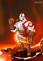 Kratos God of War by NuchiCorp