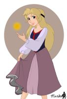 The Black Cauldron - Eilonwy by mistressmariko