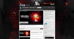 LeMusikMedia Youtube Background by Axeraider70