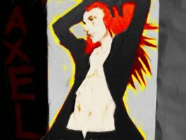 Axel painting by Xendrak18