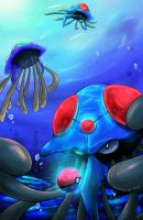 Tentacruel: Pearls of the Ocean by TkptVN