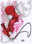 Daredevil Sketch by MRHaZaRD