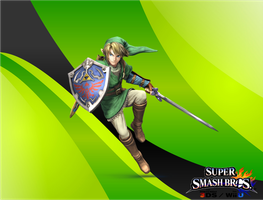 SSB4 Link Wallpaper by Galaxy-Afro