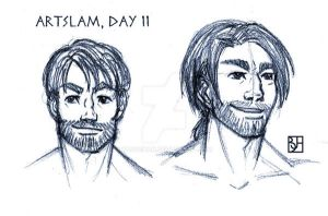Artslam: Muse Day 11 by KabochaN