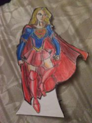 Paper doll Kara zor- El ( Supergirl TV series) by bigfan18
