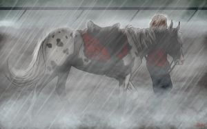Miserable Weather by RoseThornStables