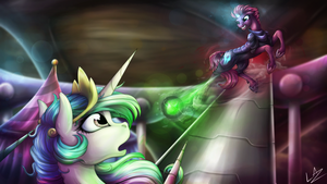Storm Attack by LupiArts