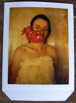 Pink Jaw Polaroid by AliceL