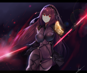 Lancer Scathach by Hews-HacK