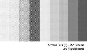 Screens Pack - CS2 patterns by screentones