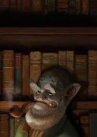 The Librarian by Pa-Bu