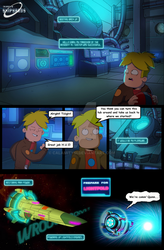 Final Space comic strip (Page 17)