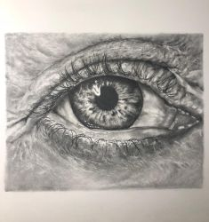 study of an eye.  by juliegoldman