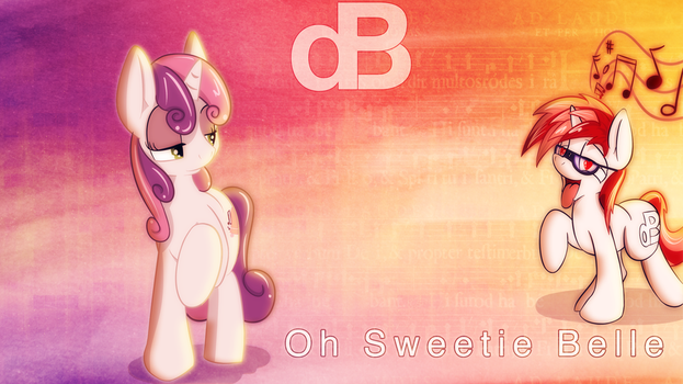 Oh Sweetie Belle by Matackable