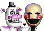 Funtime Freddy x puppet by AgentPrime