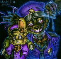 Play in the dark / Springtrap FNaF by Mizuki-T-A