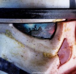 Bandai Star Wars 1/12 scale SandTrooper Model Kit by decadroid8
