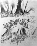 Underground Mushroom World Conceptual Sketches by Adam-The-Person