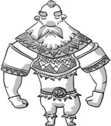 WIP Line art project Viking : Lumberjack by BearDaneerz