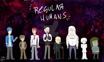 Regular Humans by Niky-Chan