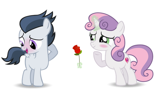 For me? by LunaticDawn