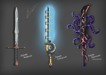 Sword Designs Challenge by incendiary17
