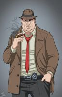 Harvey Bullock (Earth-27) commission by phil-cho