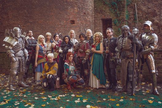 The Witcher / Cosplay Group by KADArt-Cosplay