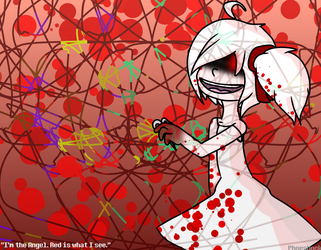 Creepypasta [AT] : Angel in Red by Phoeshock