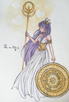 [GIFT] Athena by kathe-cat