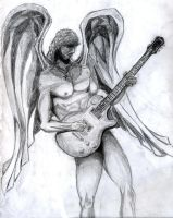 Angel Guitarist by PhoenixGR