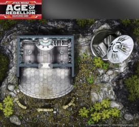 Star Wars, Age of Rebellion roleplaying game map 2 by henning