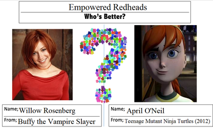 Whos Better? - Empowered Redheads by JasonPictures