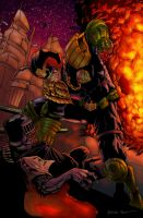 BA- Dredd Has Sentenced You To Die by ParisAlleyne