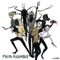 Pasta Assemble by Alloween