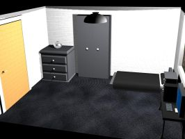 3d bedroom view 3 by tomdotcomm