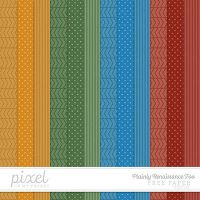 Plainly Renaissance // Patterned Papers by pixelinmypocket