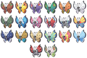 Vivillon Pattern Collection