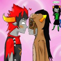 Rufioh and Horuss by TheSpiffySatyr