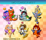 Chao commission batch 7 by Azurelly