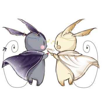 Kin And Lumi by Snow-Lantern