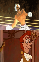 Lumiere is Scared of Great Tiger's Mirage Dance by adamRY