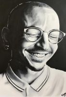 Chester Bennington by 1KnockOut1